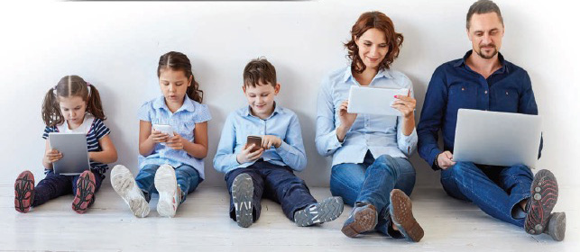 Family and technology
