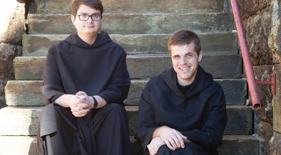 Podcasting the day-to-day life of a Benedictine monk
