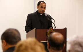 Father Nalaka Silva, chaplain of Sri Lankan Catholics of New York and New Jersey