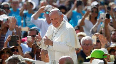 Holy Spirit conducts symphony of communion, pope says at audience