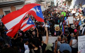 PUERTO RICO DEMONSTRATIONS