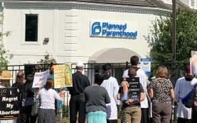 PROTEST PLANNED PARENTHOOD CHARLOTTE, N.C.