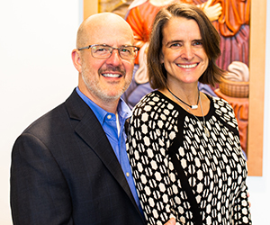 Dr. Stroud and wife