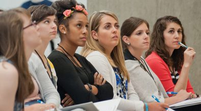 YOUNG ADULT WOMEN GIVEN LEADERSHIP