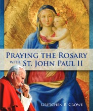 praying the rosary with John paul ii