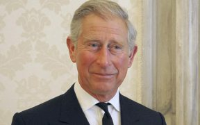 BRITAIN'S PRINCE CHARLES, CAMILLA POSE FOR PHOTO WITH POPE AT VATICAN