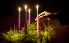 ADVENT WREATH CANDLES