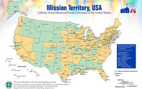 U.S. CATHOLIC HOME MISSION TERRITORIES