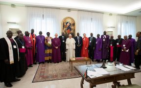 POPE SOUTH SUDAN RETREAT VATICAN