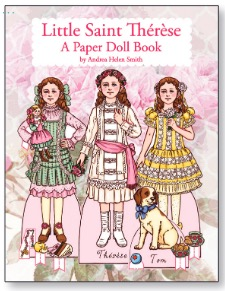 Saint Therese paper dolls