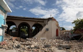 PUERTO RICO CHURCH EARTHQUAKE AFTERMATH