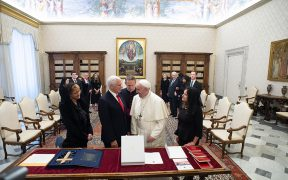 POPE FRANCIS U.S. VICE PRESIDENT PENCE