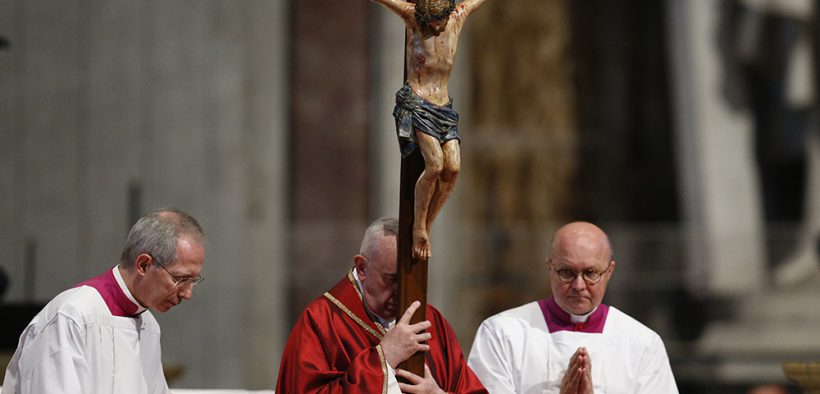 POPE FRANCIS GOOD FRIDAY 2019