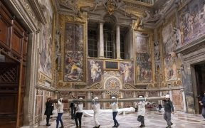 RAPHAEL TAPESTRIES DISPLAY VATICAN
