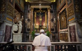 POPE PRAYER ROME CORONAVIRUS