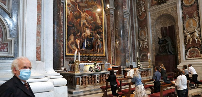 ST. PETER'S VATICAN REOPENING COVID-19