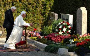FILE PHOTO POPE BENEDICT BROTHER GEORG