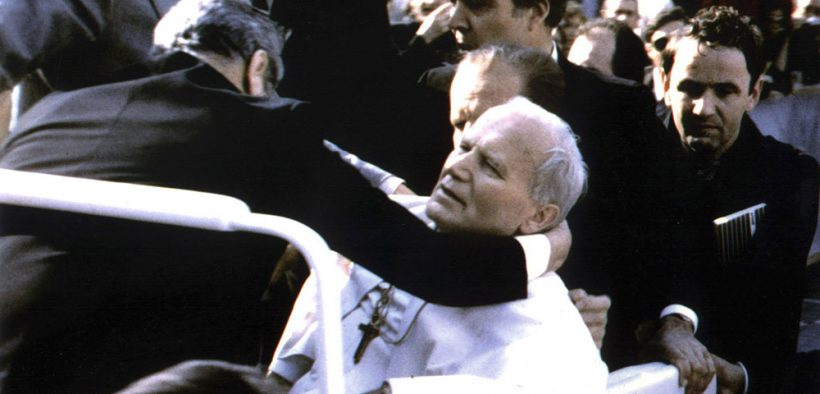 FILE PHOTO OF POPE INJURED IN 1981 SHOOTING