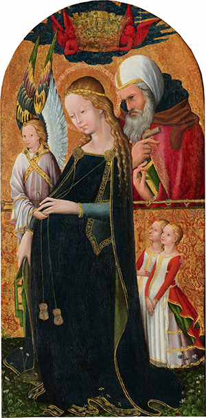 Expectant Madonna