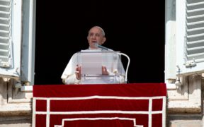 Pope Francis at Angelus